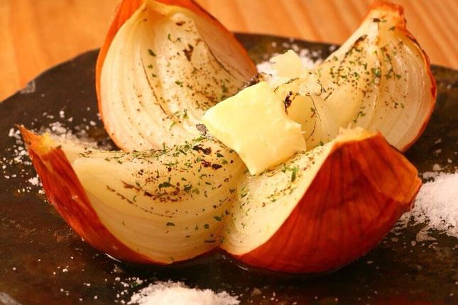 高糖度 淡路産の玉ねぎ 丸蒸しバター