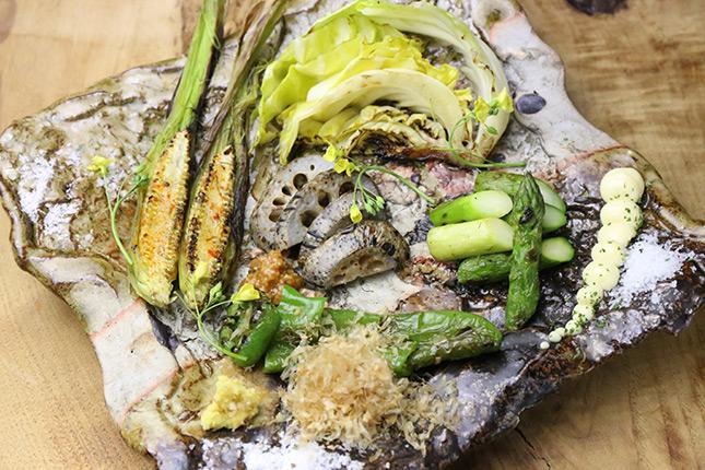 焼き野菜の盛り合わせ