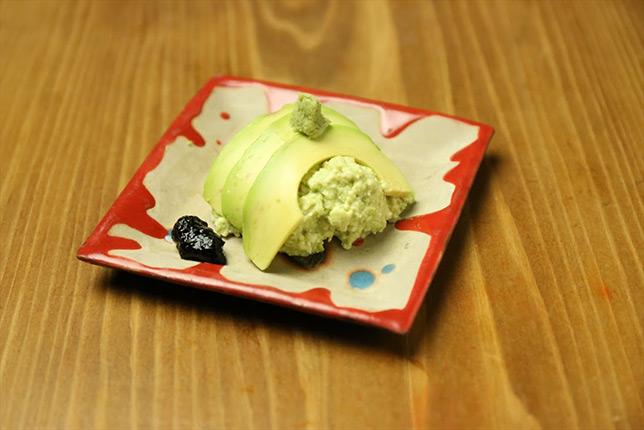 アボカド島豆腐サラダ